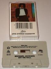 MICHAEL JACKSON OFF THE WALL ORIGINAL CASSETTE   1979