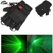 YG-404 Left Hand Aluminum 532nm 3mw DC3.7V Laser Glove Green Laser + Blue light
