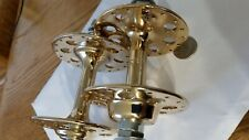 Campagnolo Tipo 36-hole gold-plated hubs mongoose kos bullseye cook bros