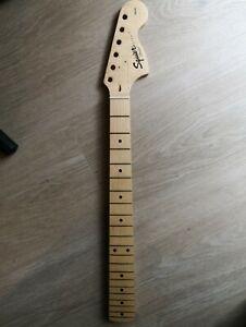 Manico neck Squier affinity Stratocaster Fender anno 2003, acero 21 tasti!