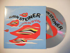 RUBIN STEINER : QUE BONITA ES LA VIDA ♦ CD SINGLE PORT GRATUIT ♦
