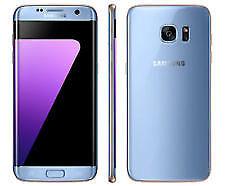 Samsung Galaxy S7 Edge 32GB 4GB 4G LTE SMARTPHONE CORAL BLUE COLOR