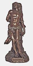 Saint Sebastiam Healer Roman Soldier Religious Statue Bronze Finished