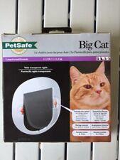 PetSafe Big Cat Door 1 - 25 Pounds. Four Way Locking Mechanism