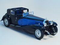 Bugatti Royale Type 41 Coupe de Ville in Blue and Black Color, Bauer scale 1/18