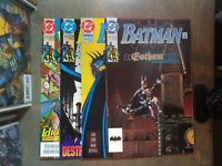 BATMAN 4 book lot #473,474,476,477  VF-NM D.C comics