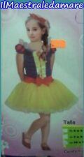 Vestito da Biancaneve Bambina Costume Carnevale Cosplay Travestirsi Snow White
