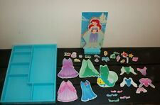 DISNEY The Little Mermaid Ariel Wood Magnetic Dress-Up Set Melissa & Doug