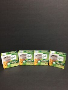 Ball Regular Mouth Canning Lids- 4 Boxes Of 12 (48 Lids Total) Brand New Sealed