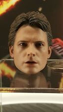 Hot Toys MMS257 Back to the Future 1/6 Marty Mcfly action Figure's head sculpt