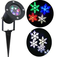 Christmas Projector Light Moving LED Laser Outdoor Xmas Landscape Halloween Lamp