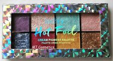 Technic Hot Foil Cream Eye Shadow Palette Shimmer Shades Pink Blue Green Gold