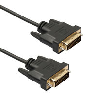 DVI 24+1 Male To Male HDTV Video Cable Cord For Computers HDTV LCD lot be1
