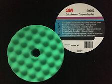 3M 50962 Quick Connect Perfect-it III Polierschaum doppels.grün genoppt D:150mm