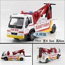 1:50 1/50 KDW ROAD WRECKER RESCUE REPAIR TRUCK DIECAST CONSTRUCTION MODEL CRANE