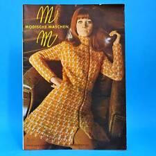 Modische Maschen 2 von 1970   Schnittmuster Mode Verlag für die Frau   DDR X