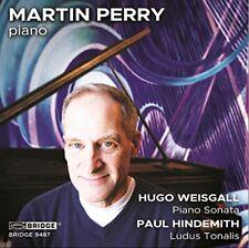 Martin Perry - Hugo Weisgall: Piano Sonata; Paul Hindemith: Ludus [CD]