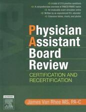 Physician Assistant Board Review: Certification and Recertification-ExLibrary
