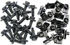 "Body Bolts & Short U-nut Clips- 5/16-18 x 1-3/16"" Long- 1/2"" Hex- 40 pcs ED#375F"