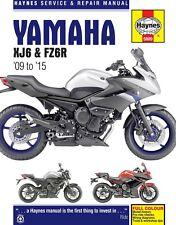 Yamaha XJ6 & FZ6R 2009 to 2015 Haynes Manual 5889 NEW