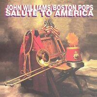 John Williams/Boston Pops Salute to America by John Williams (Film Composer) (CD