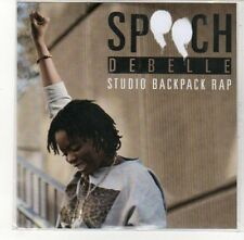 (DK833) Speech Debelle, Studio Backpack Rap - DJ CD