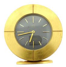 GRUEN GENEVE PRECISION ELECTRONIC SWISS PAT. PEND. BRONZE CLOCK ROUND
