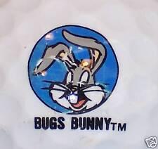 (1) Bugs Bunny Disney Warner Brothers Logo Golf Ball (light blue circle)