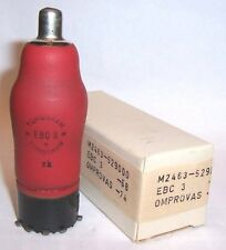 NEW IN BOX TUNGSRAM EBC3 TRIODE / DUAL DIODE RADIO VALVE / TUBE