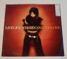 "LIVIN JOY - Where Can I Find Love - 12"" Single PS"