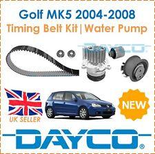 For VW Golf MK5 + Estate 2.0TDi 2004-2008 Dayco Timing Belt Kit & Water Pump OE