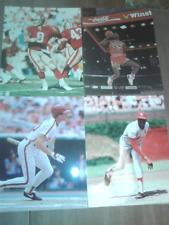 New listing 4 Glossy 8x10 Sports Photos: Michael Jordan,Mike Schmidt,Bob Gibson,Steve Young