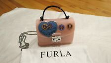 Furla Candy Climbing Meringa MINI Crossbody Rosa Chiaro Pink $248 Authentic NWT