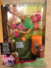 Made to Move Barbie Camping Fun Rock Climber Hiking Fashion Doll! New!