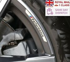 BMW M Performance Alloy Wheel Badges x4