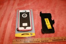 Used Otter Box Defender Iphone 6 Plus Pink Hard Case with Belt Clip