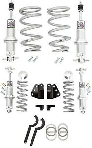 Viking Adjustable Shock Coilover Spring Front & Rear Kit 77-90 Chevy Impala 550