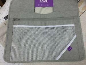 SnuzPod3 Storage Pocket - Dusk Grey BRAND NEW FREE POSTAGE £18.99