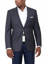 Canali Modern Fit 42r 52 Drop 7 Solid Gray Two Button Wool Blazer Sportcoat