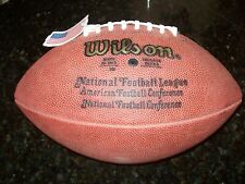 Official Wilson Nfl Leather Game Football 1990-2006 F1000 Tagliabue New!