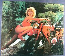Altes Blechschild Oldtimer Moto Guzzi Italia Werbung Reklame gebraucht used