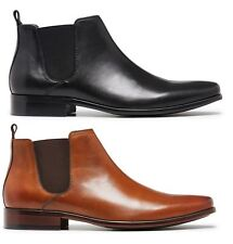 MENS JULIUS MARLOW - KICK FORMAL/WORK/CASUAL LEATHER BOOTS SHOES MEN'S