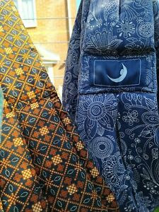 The Baba Sling Baby Carrier Birth to 15kg, navy limited ed. & Indonesian Batik