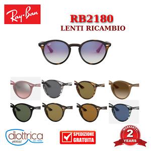 Lenti ricambio RAY-BAN RB2180 occhiali da sole uomo donna Polar Sfumata Specchio