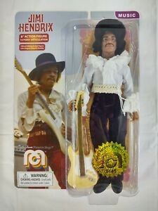 """Mego Marty Abrams Limited Edition Jimi Hendrix 8"""" Action Figure Toy #8146 New"""