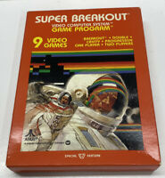 Super Breakout for Atari 2600 Video Game 1981 BRAND New SEALED