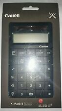Canon X MARK II Calculator - Black