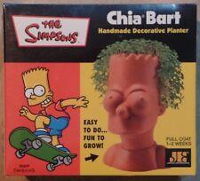 The Simpsons Chia Bart Decorative Planter Set MINT New SEALED 2002