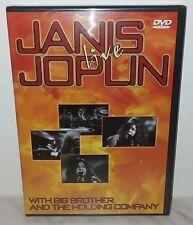 DVD JANIS JOPLIN - LIVE - SEALED SIGILLATO