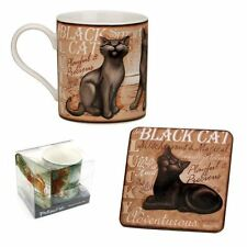 My Pedigree Pals Black Cat Mug & Coaster Set NEW - 24576